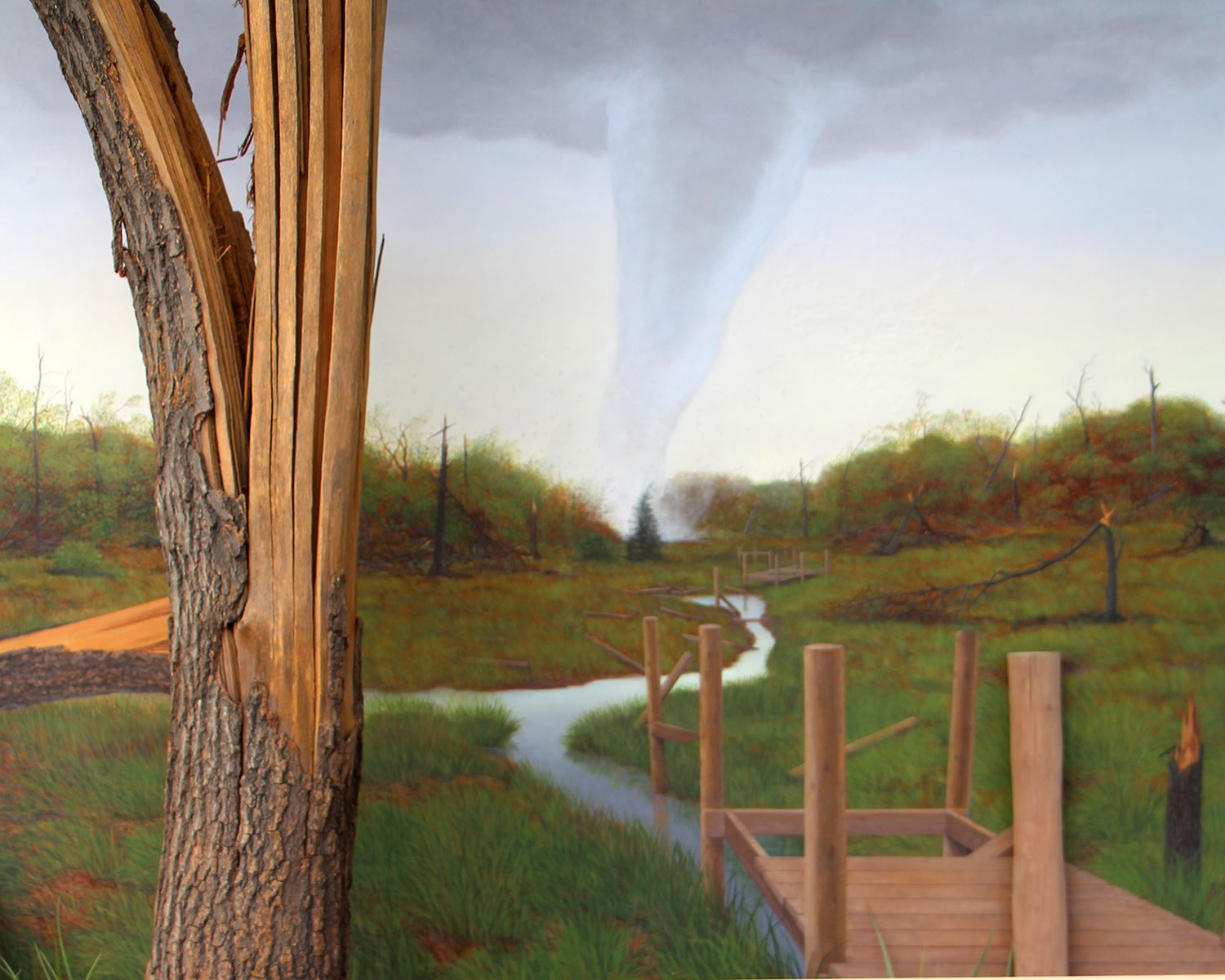 tornado exhibit background