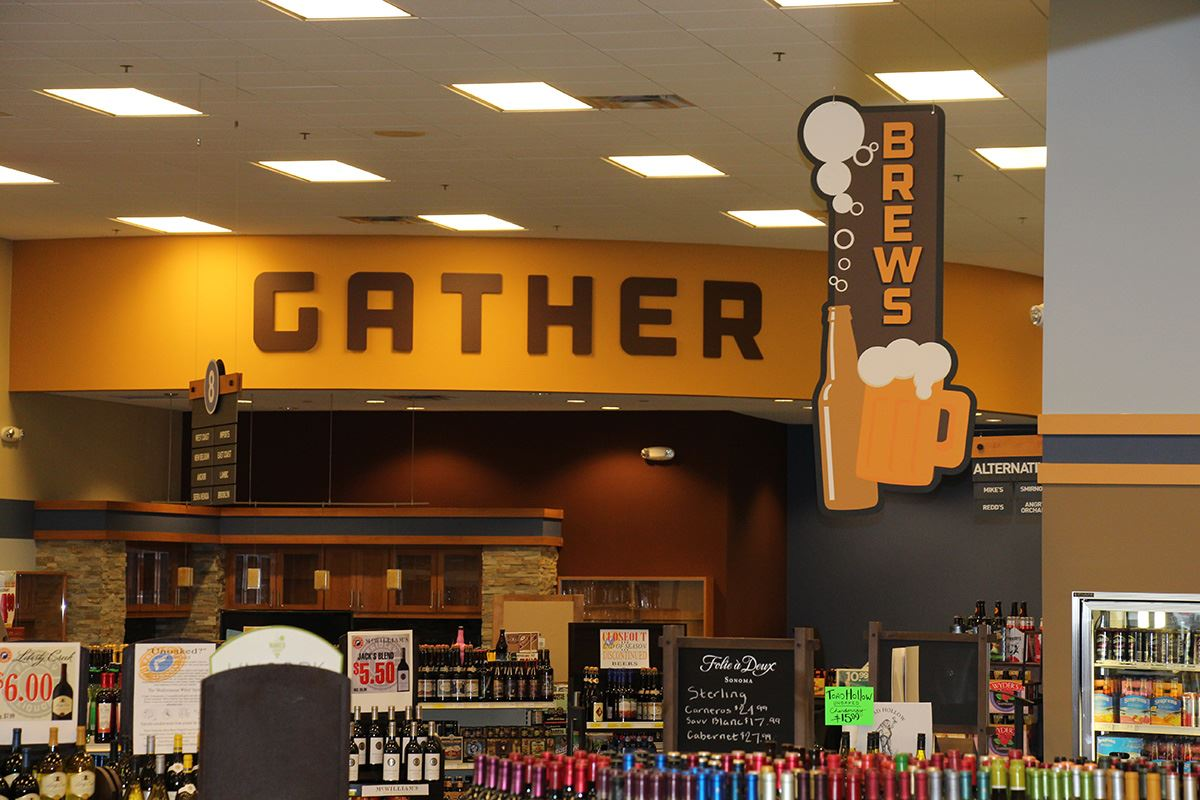 Gathering Space at Fridley Liquor