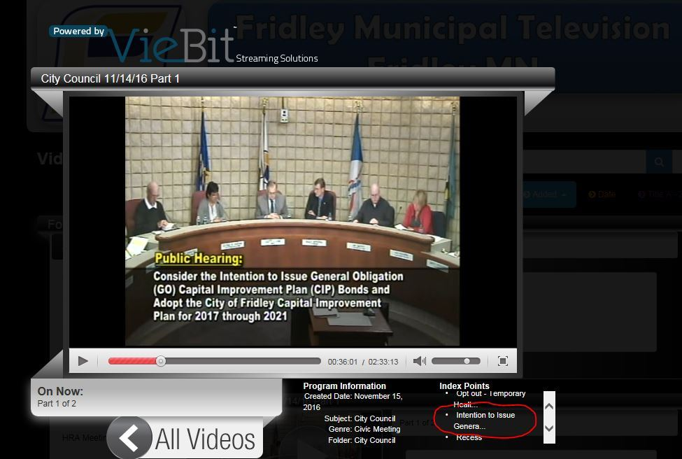 Council Meeting Video Still