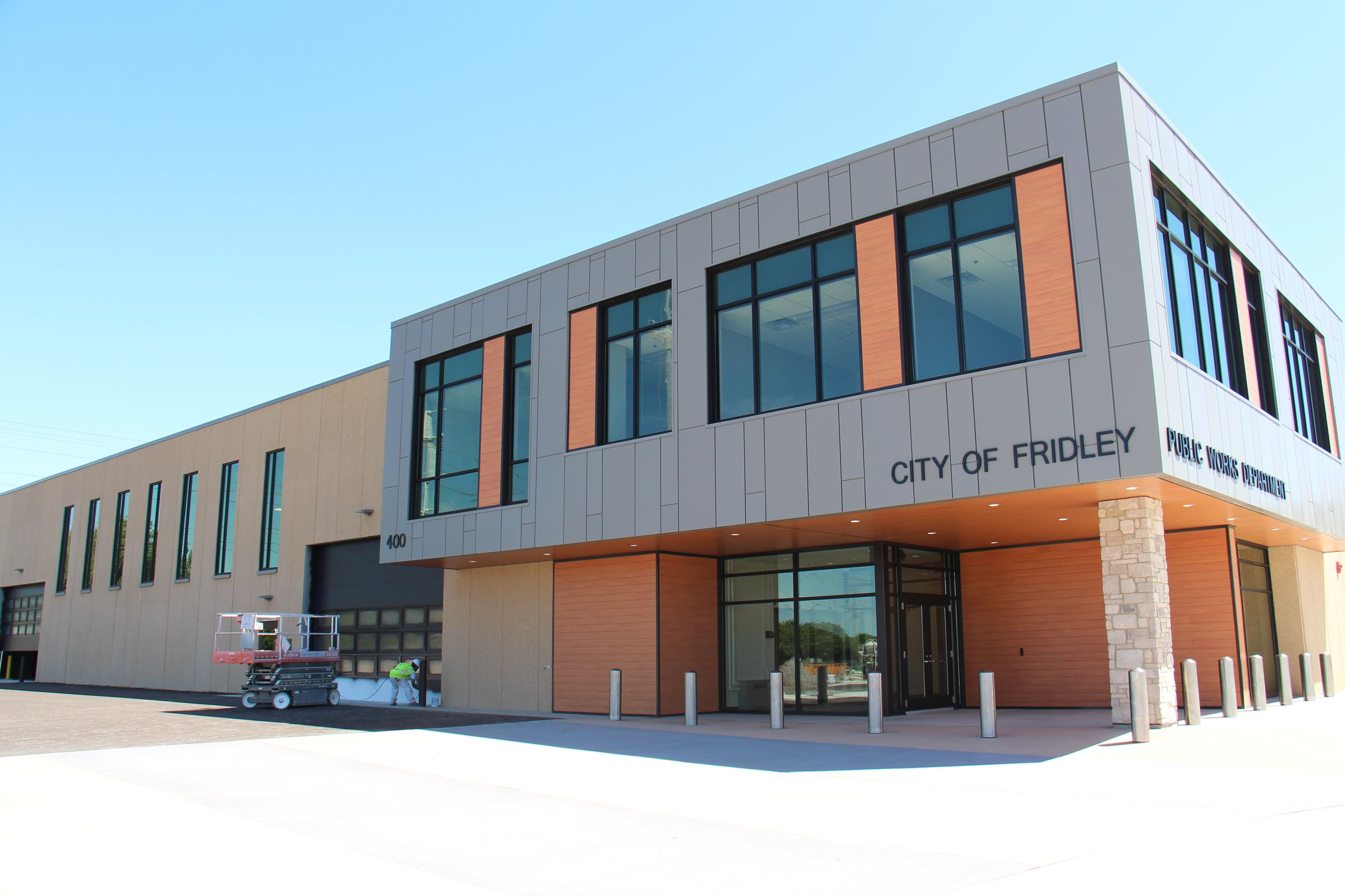 New public works building