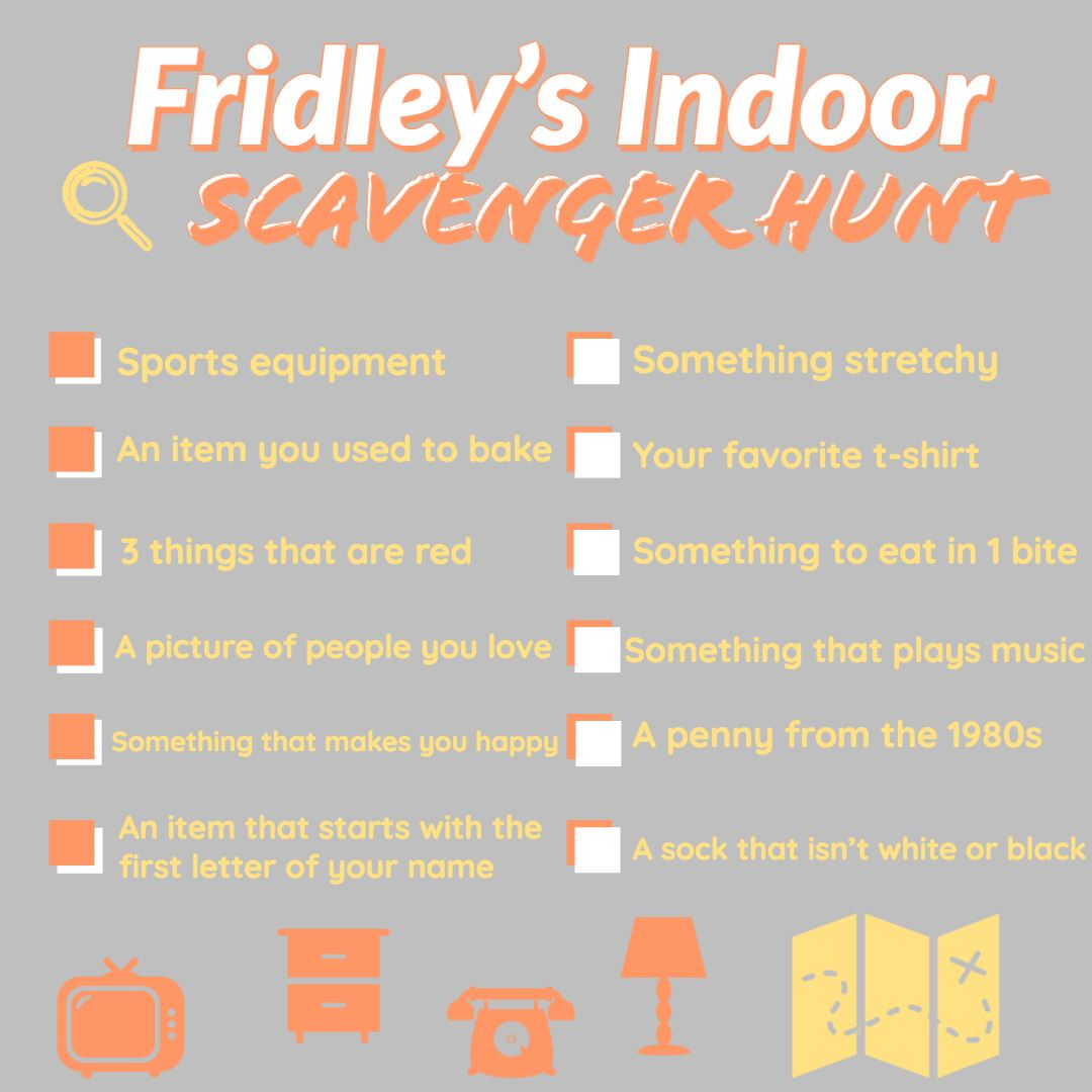 Indoor - Scavenger Hunt