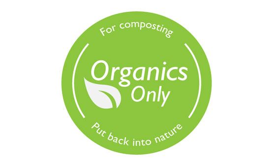 Organics logo - Put back into nature