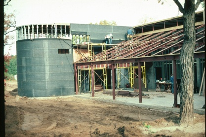 Construction of Original Building